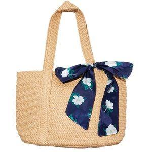 NWT Draper James everyday straw bag